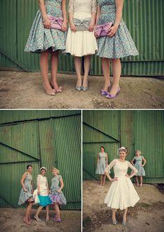 Alexandra KIng Wedding Dress, bright and colourful wedding  Little Wedding Wonders shared Love My Dress's photo.