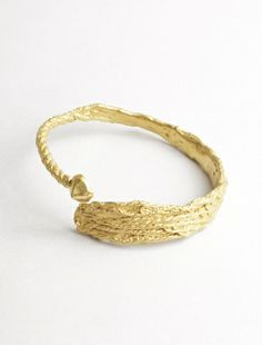 Rollercoaster Bangle Gold