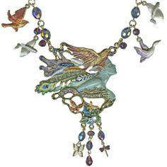 Josephine Wall Spirit Of Flight Necklace by Kirks Folly (Goldtone) Kirks Folly, http://www.amazon.com/dp/B004WKQXAK/ref=cm_sw_r_pi_dp_WwLcrb1RFV1C0