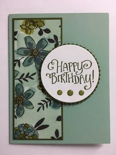My Creative Corner!: Better Together, Share What You Love, Birthday Card Simple Birthday Cards, Handmade Birthday Cards, Quick Cards, Cute Cards, Girls 3rd Birthday, Happy Birthday Gorgeous, Card Making Templates, Sympathy Cards, Greeting Cards