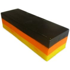 Handcrafted Soap Each slice weighs approximately 115g. Halloween themed label.