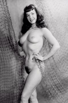 bettie page nude