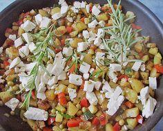 Chefkoch.de Rezept: Bratkartoffeln, griechische Art