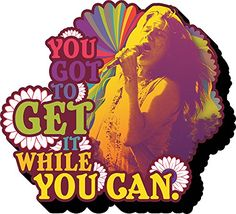 Aquarius Janis Joplin Get It Funky Chunky Magnet Aquarius…