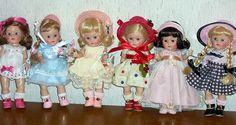 Some of my Ginny dolls by MJPalli, via Flickr