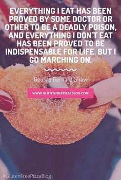 It's okay to eat that donut.as long as its gluten free. Gluten Free Pizza, Quote Board, Typography Quotes, New Pins, Its Okay, Eat, Blog, Its Ok, Blogging