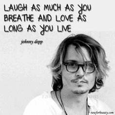 Johnny Depp is my favorite actor his quotes are amazing he went from jack sparrow to the mad hatter to rango and the groom of the dead wow Literally my all time fav
