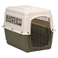 Petmate Vari Kennel Ultra Fashion. Crate training is an awesome way to train and a must have. I personally have both Airliner and Folding.