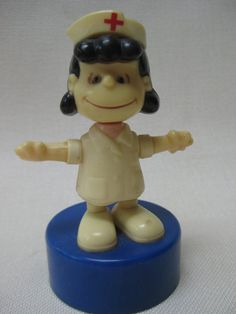 Vintage 1952 Lucy Push Puppet by Ideal~~