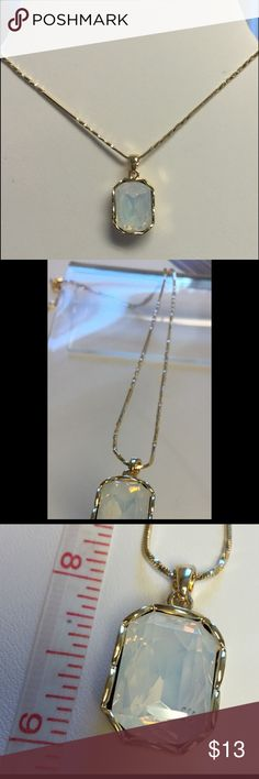 Beautiful Crystal Necklace 18k Gold Plated High quality 18k Gold Plated Jewelry Necklaces