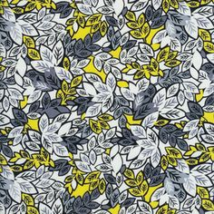 Yet another adorable pattern. Alice Kennedy - Lemon Grove - Foliage in Yellow