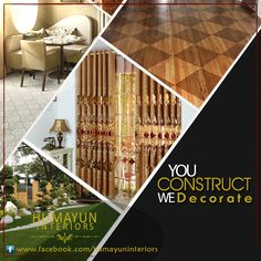 You construct we decorate. contact humayun interiors for the best decent vinyl flooring, carpets, wooden flooring and astroturf grass.  http://www.humayuninteriors.com/ Call us +021-34964523 , 34821297, 34991085 Shop no: CA-5,6,7 hassan center, University Road Gulshan-e-Iqbal Karachi  #Banquets_carpets #Commercial_carpets #Office_carpets #Berber_carpets #Loop_carpets #Highpile_carpets #Masjid_carpets #Contemporary_rugs #Area_rugs #Centerpieces #Abstract_modern_rugs #Marquee #Shadihallmarquee…