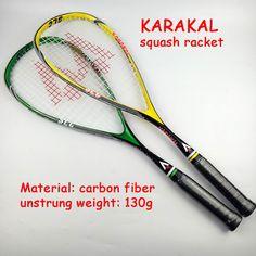 2016新しいスカッシュラケットkarakalスカッシュラケット高品質スカッシュ女性男性raquetasスカッシュラケットボール