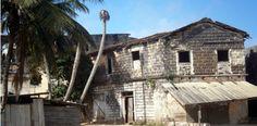 Maison Sierra-Léonaise à Grand Bassam en Côte D'Ivoire en Afrique de L'ouest