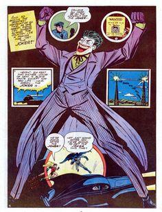 Batman and Robin face the JOKER! Joker Story, Batman Story, Three Jokers, Return Of The Joker, Dark Knight Returns, Bob Kane, Greatest Villains, Joker Art, Comic Book Pages