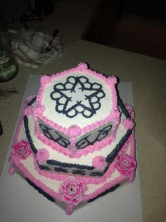 Black Veil Brides Cake for my daughter