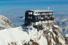 Capanna Margherita, rifugio Monte Rosa Mt. 4634
