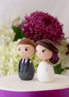 Wedding Cake Toppers   we ❤ this!  moncheribridals.com  #weddingcaketopper #weddingcake