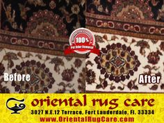 Area Rug Cleaning Experts in Florida