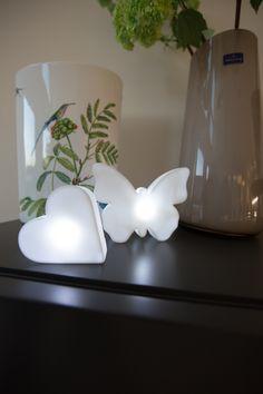 Coeur lumineux micro à poser LED design