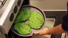 Chips de couve: leve na forma e light no conteúdo - Lucilia Diniz