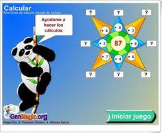"""La estrella de las sumas"" (Juego de Composición de Números de Primaria) Sumo, Family Guy, Fictional Characters, Mental Calculation, Learning Numbers, Math Class, Homeschool, Teaching Resources, Art For Kids"
