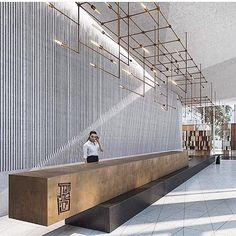 Trouvez l'inspiration la meilleure et la plus luxueuse pour votre prochain projet de design d'intérieur de lobby ou de réception ici. Pour plus d'informations, visitez luxxu.net