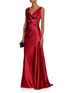 Amber stretch-satin gown | Vivienne Westwood Red Label | MATCHESFASHION.COM US