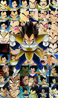 Vegeta - Dragon ball
