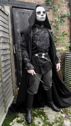 how to make a death eater costume