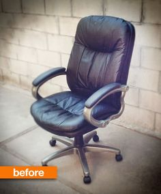 Before & After: A Joyous Task Chair Transformation HOW JOYFUL | Apartment Therapy