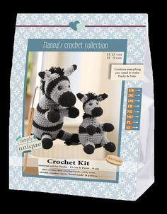 Kit Uncinetto Paula & Pater Hanna's Crochet Collection
