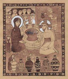 Ангел вопияше... Рождество Рождество Райское веселие Богородица и святые девы Богородица и святые девы Богородица у источника Брак в Кане Исцеление…