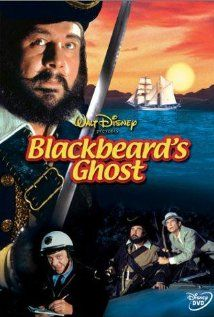 In this comedy, Peter Ustinov is the famous pirate's ghost that returns to our time. Blackbeard has been cursed by his last wife who was a notorious witch.