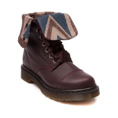 Martens Aimilie Boot in Dark Red at Journeys Shoes. So comfy, from 2014 premium outlets trip Ugg Slippers, Fashion Books, Ugg Shoes, Brown Boots, Winter Boots, Dark Red, Uggs, Combat Boots, Leather