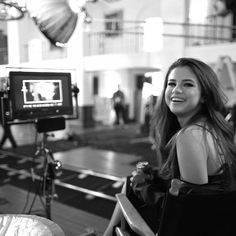 Behind the scenes of the Kill Em With Kindness video. #selena_gomez_kill_em_with_kindness