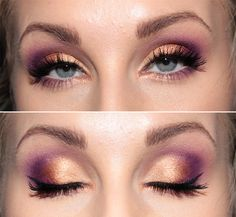 Copper and plum shadow