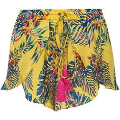 Sharon Shorts (270 AUD) ❤ liked on Polyvore featuring shorts, colorful shorts and multi colored shorts