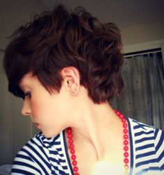 pixie cut for thick hair - Google Search