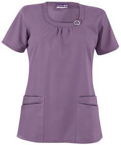 UA788C Butter-Soft Scrubs by UA™ Women's Rounded Neck 4-Pocket Scrub Top $15.99 http://www.uniformadvantage.com/pages/prod/round-neck-scrub-top.asp?navbar=11=plumm