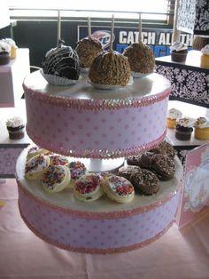 cupcake stand brienna-s-first-birthday