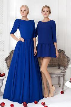 """Rochie """"Lady Di"""" albastru - 24990 ruble, rochie """"Daniela"""" albastru - 14990 ruble"""