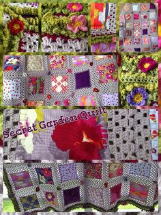 Fusion Blanket Crochet Along -- many pics