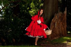 Hey, I found this really awesome Etsy listing at https://www.etsy.com/listing/157660982/little-red-riding-hood-gothic-lolita