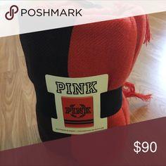 VS PINK Boyfriend blanket✨GIFTED✨ BRAND NEW PINK Victoria's Secret Other