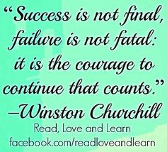 Success quote via www.Facebook.com/ReadLoveAndLearn
