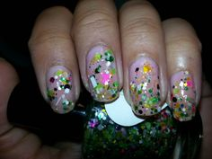 Candy Lacquer - Spring Fever #glitter #glitternails #funglitter #indie #indieglitter