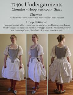 A list of garments I have completed, in order of date of origin. Where completed dress diaries/dedicated posts exist, I have given a link to. 18th Century Dress, 18th Century Costume, 18th Century Clothing, 18th Century Fashion, Historical Costume, Historical Clothing, Historical Dress, Victorian Fashion, Vintage Fashion