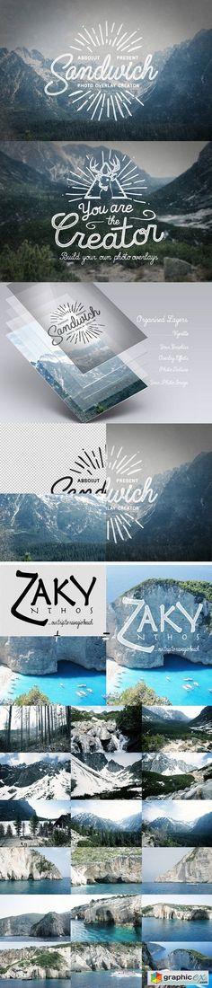 Sandwich - Photo Overlay Creator Photoshop Overlays, Layer Style, Pattern Fashion, The Creator, Layers, Texture, Create, Artwork, Instagram