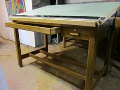 Vintage amp antique drafting tables engineer s amp architect s more